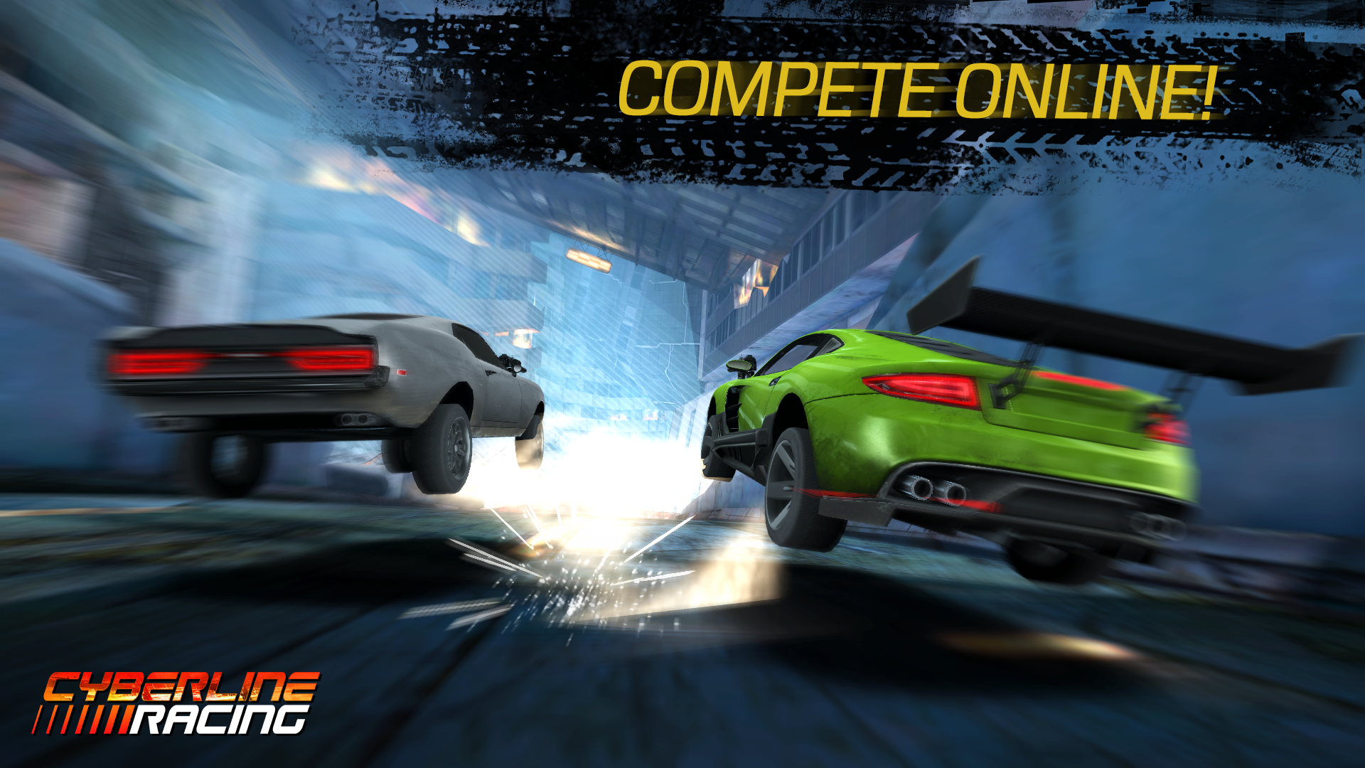 Cyberline Racing Android, AndroidTab game