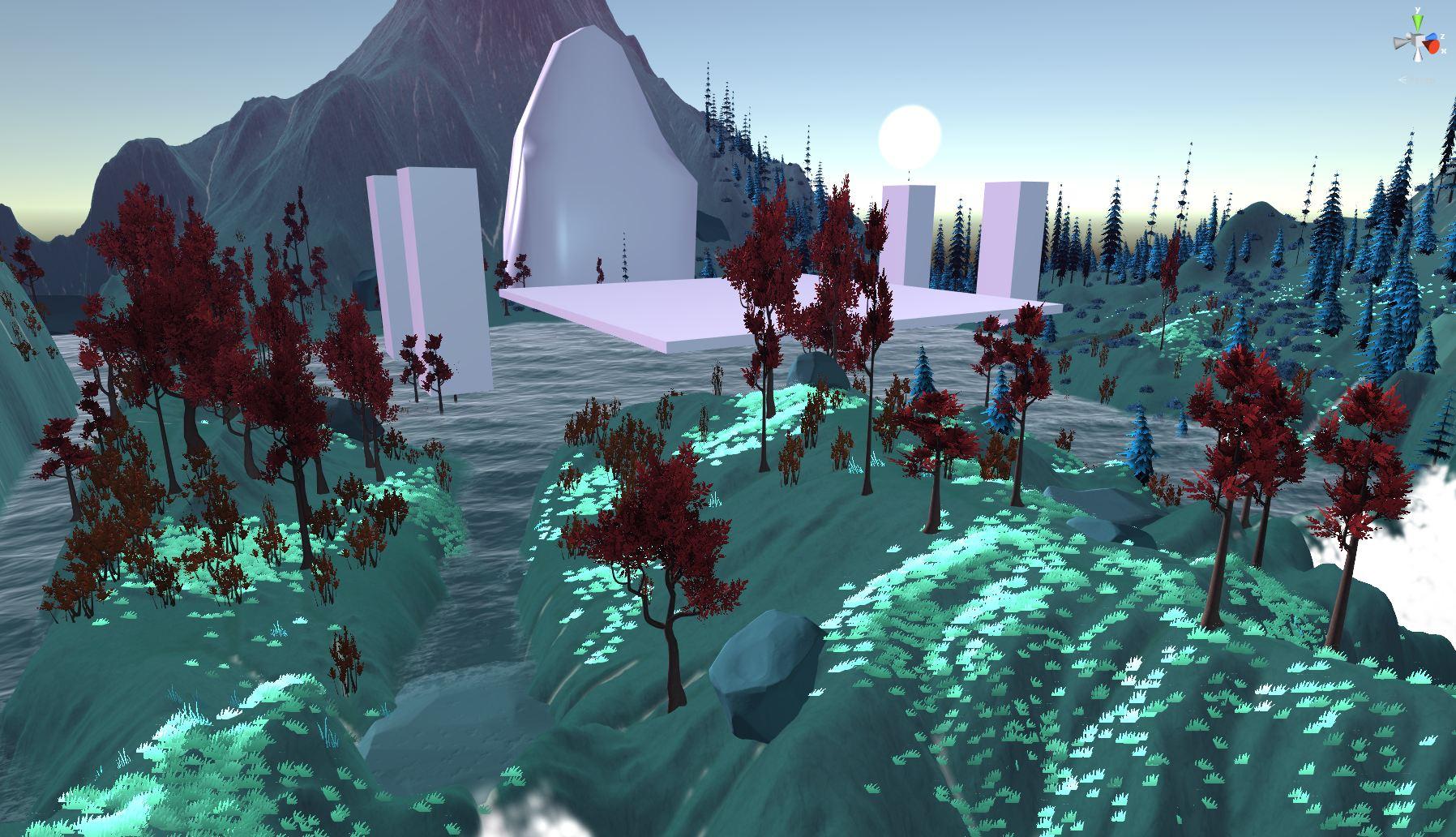 Progress report from 3d environment artist