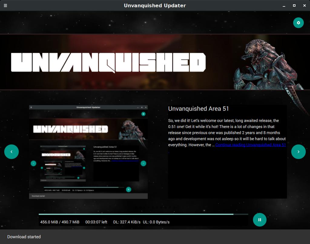 Unvanquished Updater
