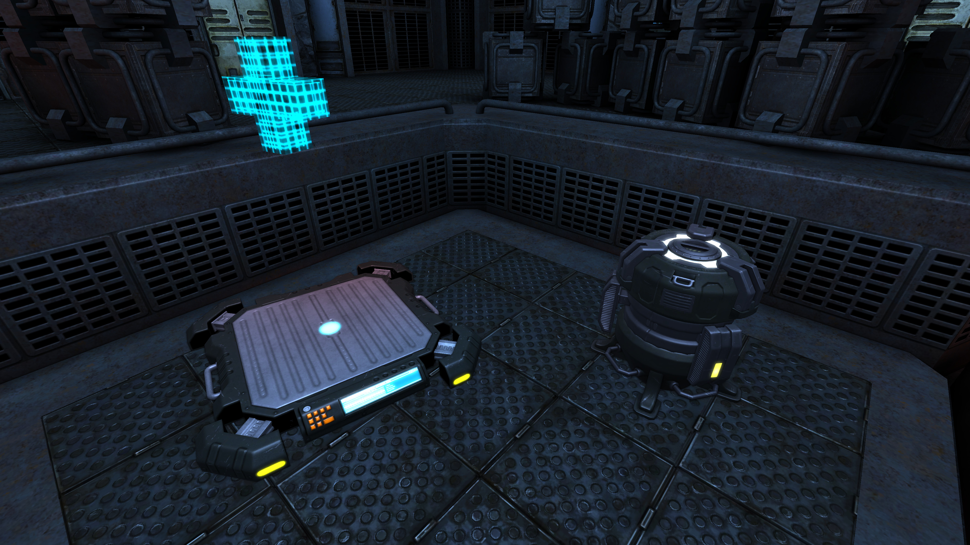 Chris' Medipad and Drill buildables, as seen in Antares map by Pevel