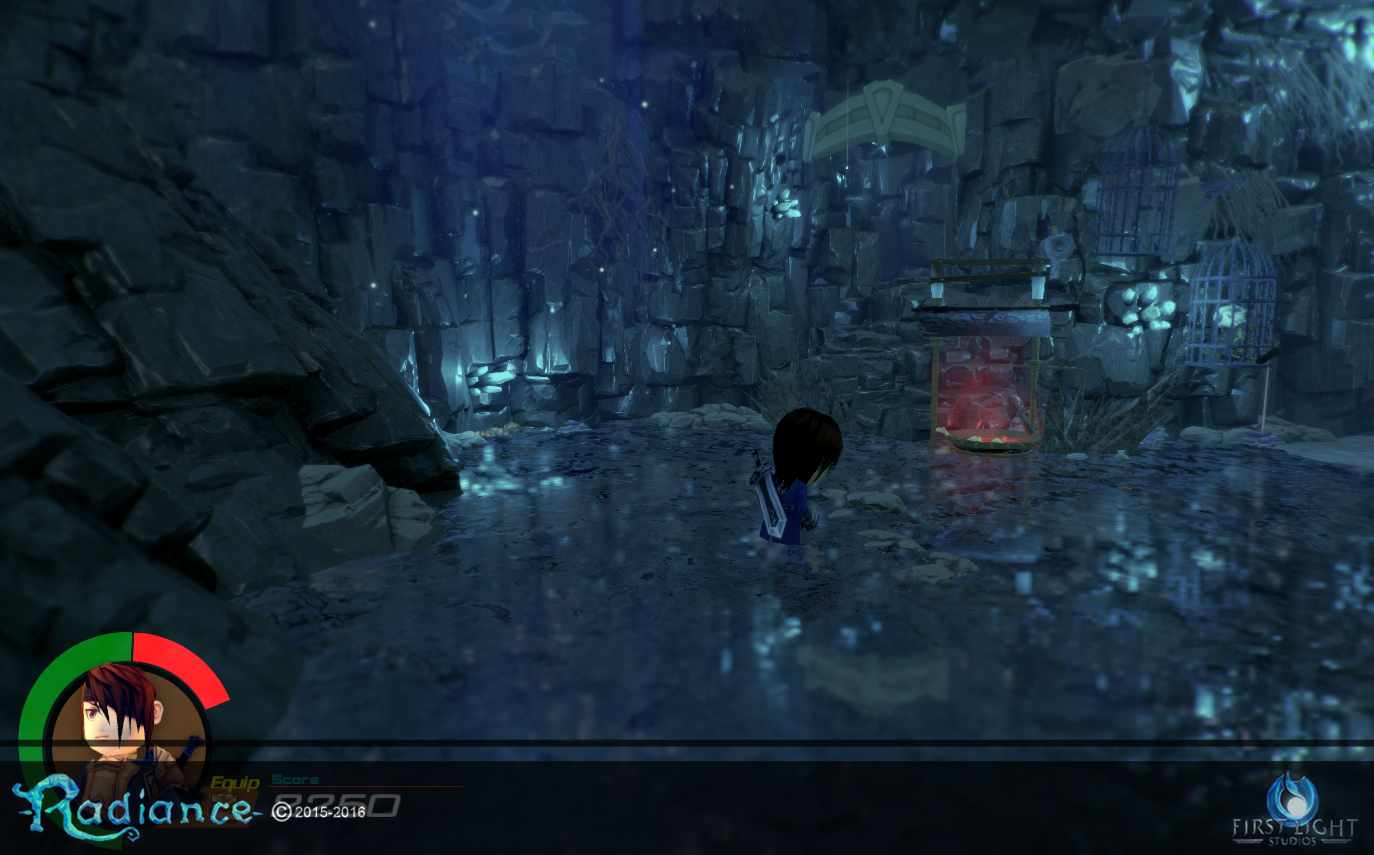 Cave System - Water Well