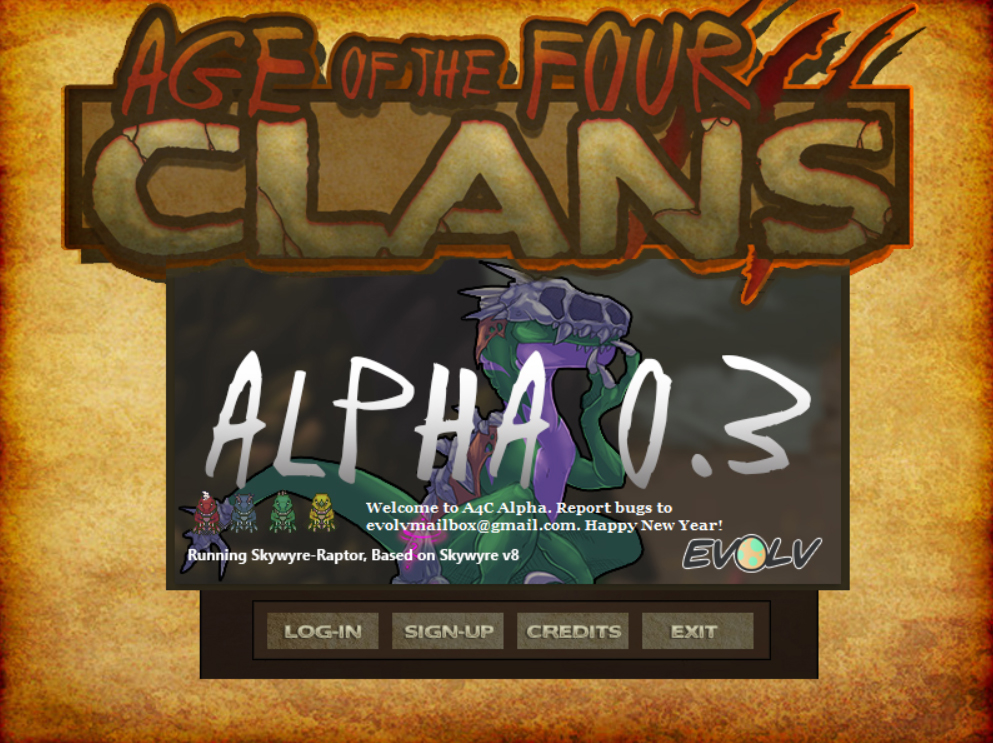 Age of the Four Clans Alpha 0.3