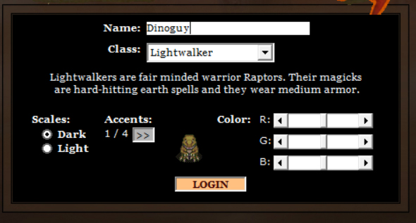 Extended character customization options