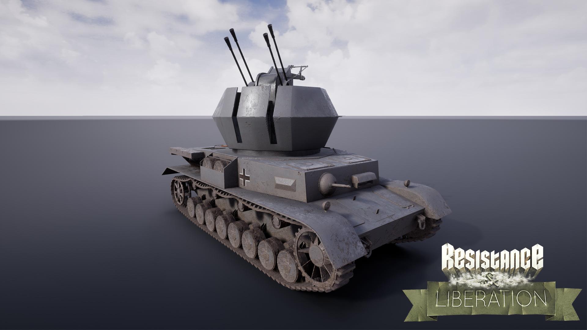 Wirbelwind AA Tank