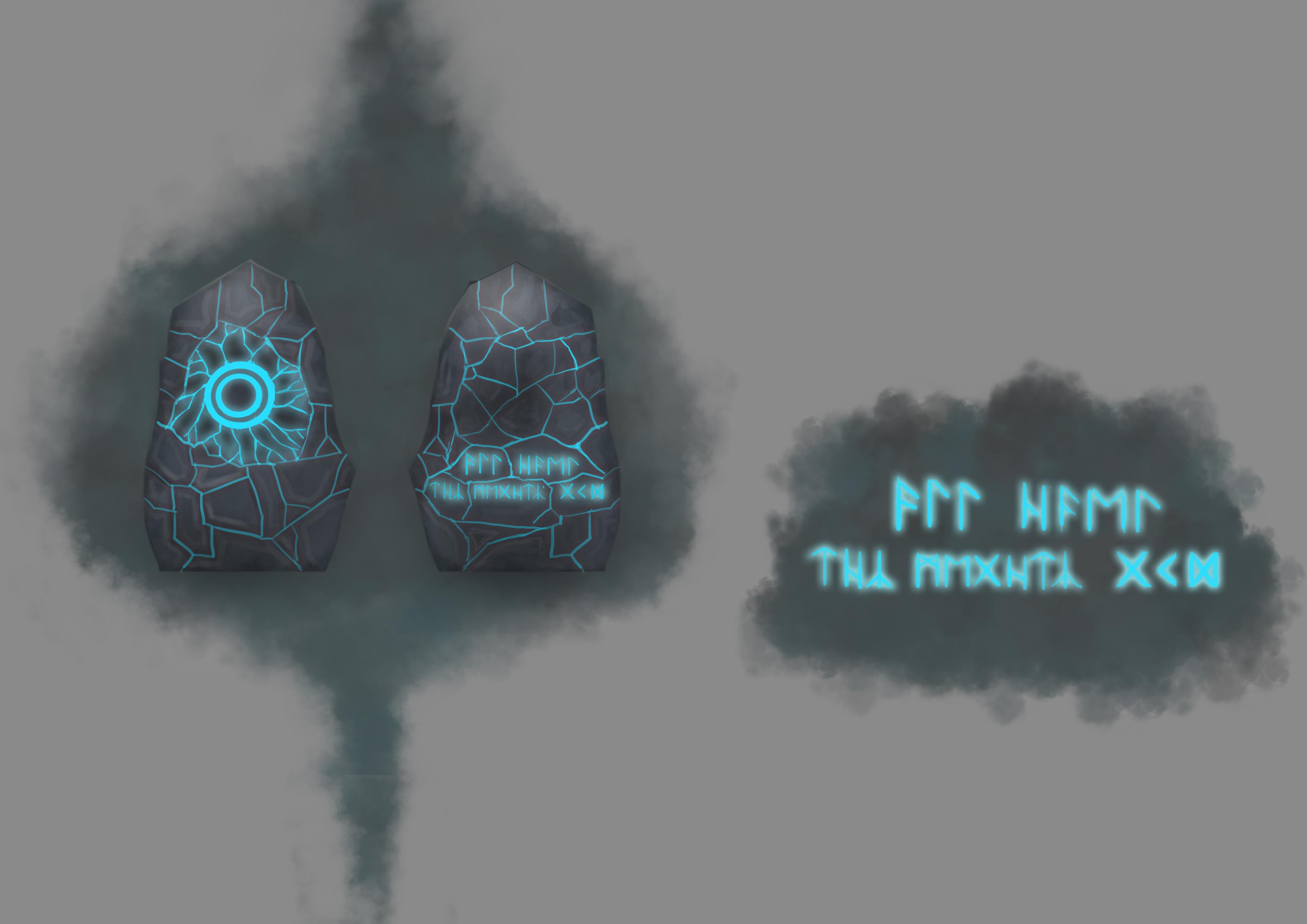 Runestonce Concept 3