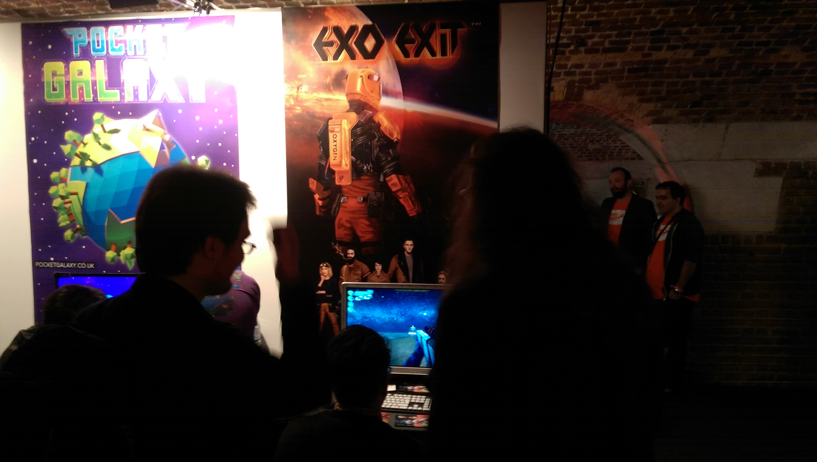 Exo Exit Stand at EGX Rezzed