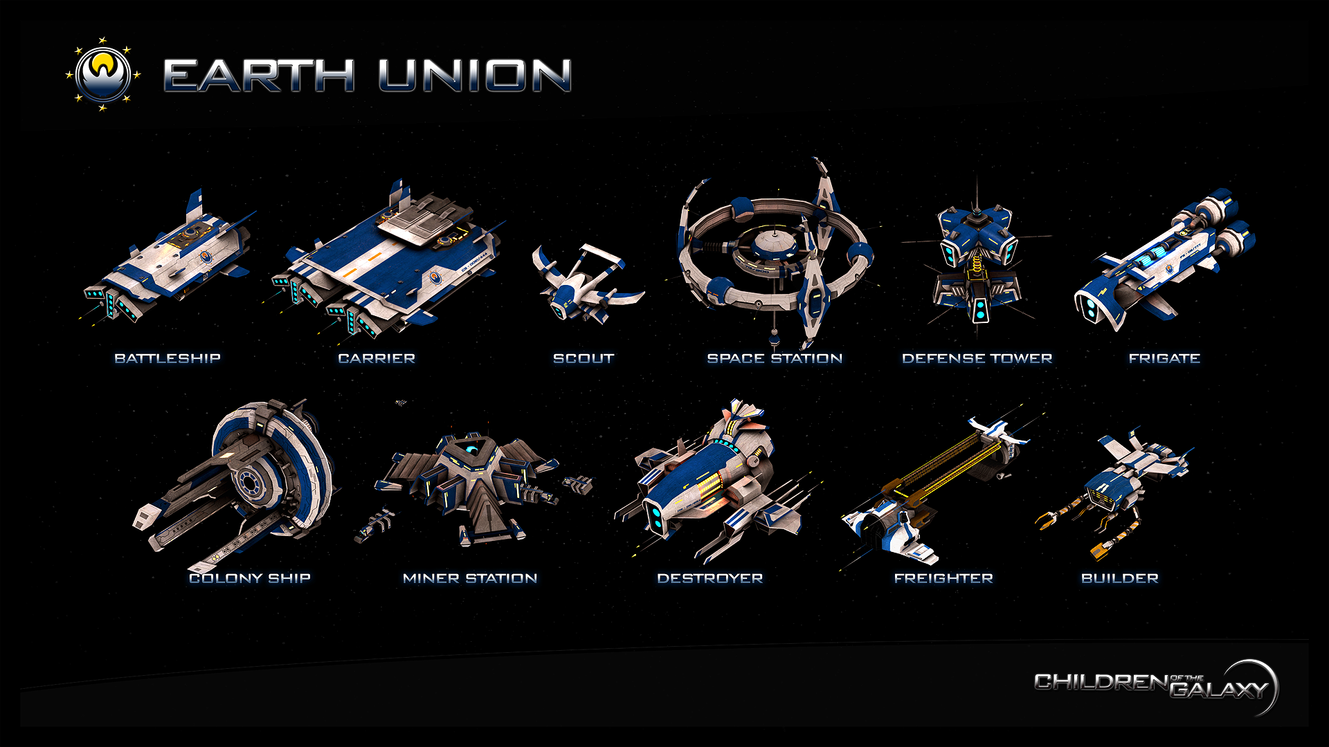 Earth Union fleet
