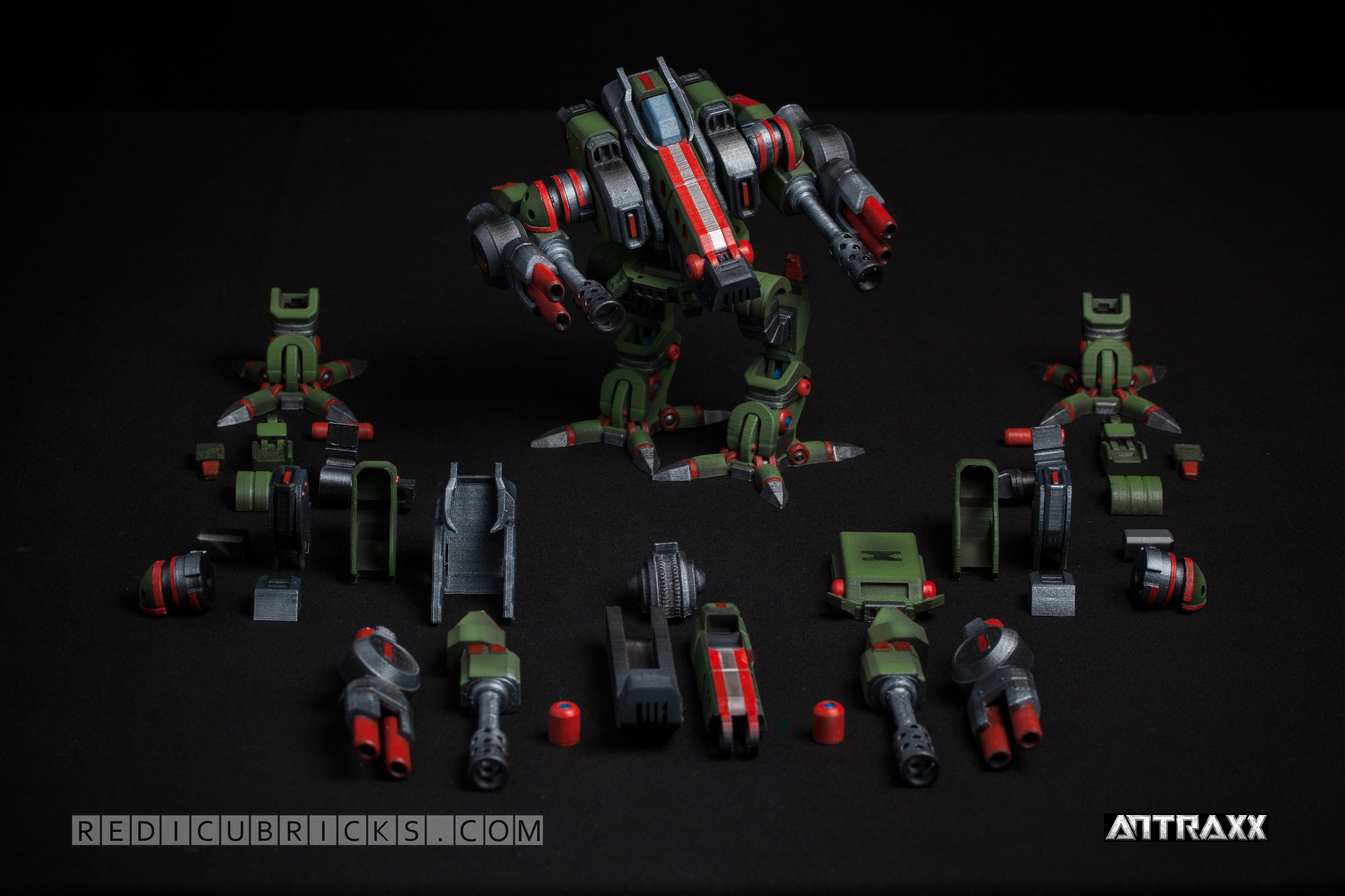 antraxx redicubricks 3