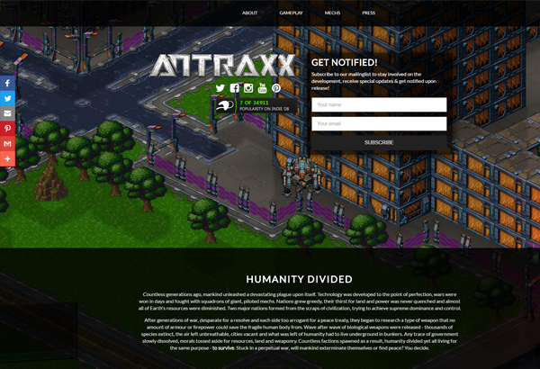 antraxx website