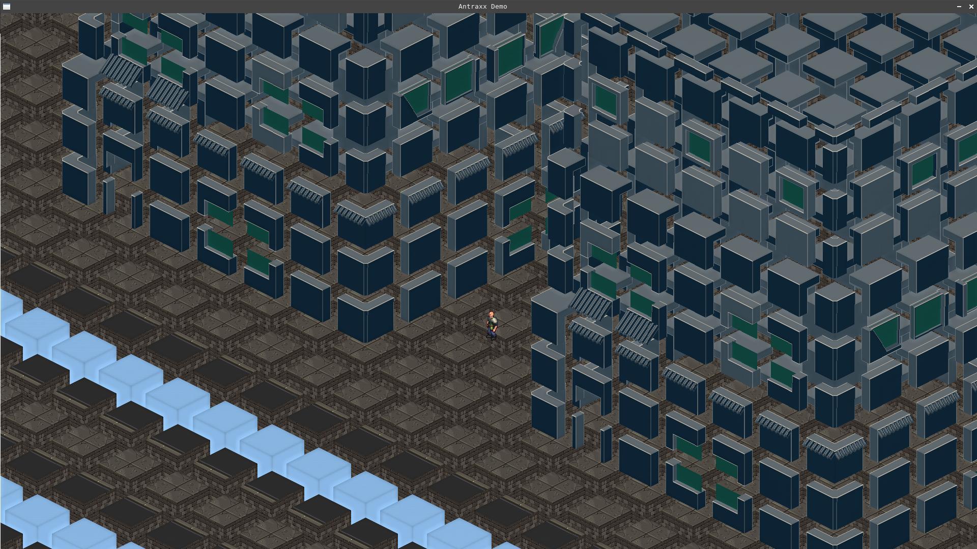 voxels to pixelart 2