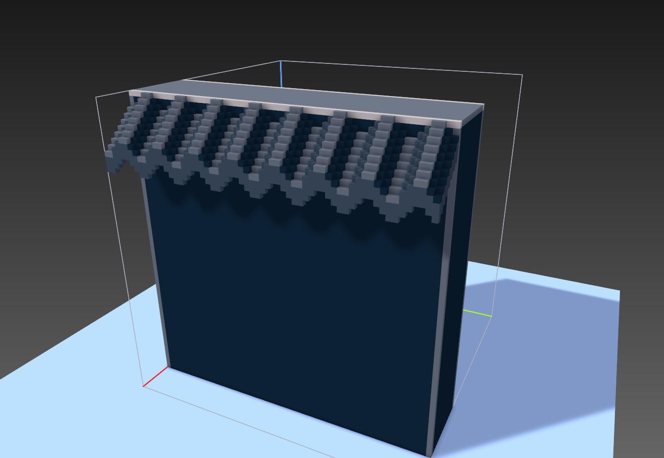 voxels to pixelart 5