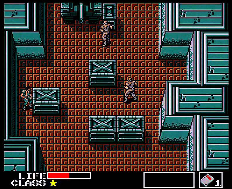 Metal Gear, MSX – A top-down Metroid game, so I have to love it.