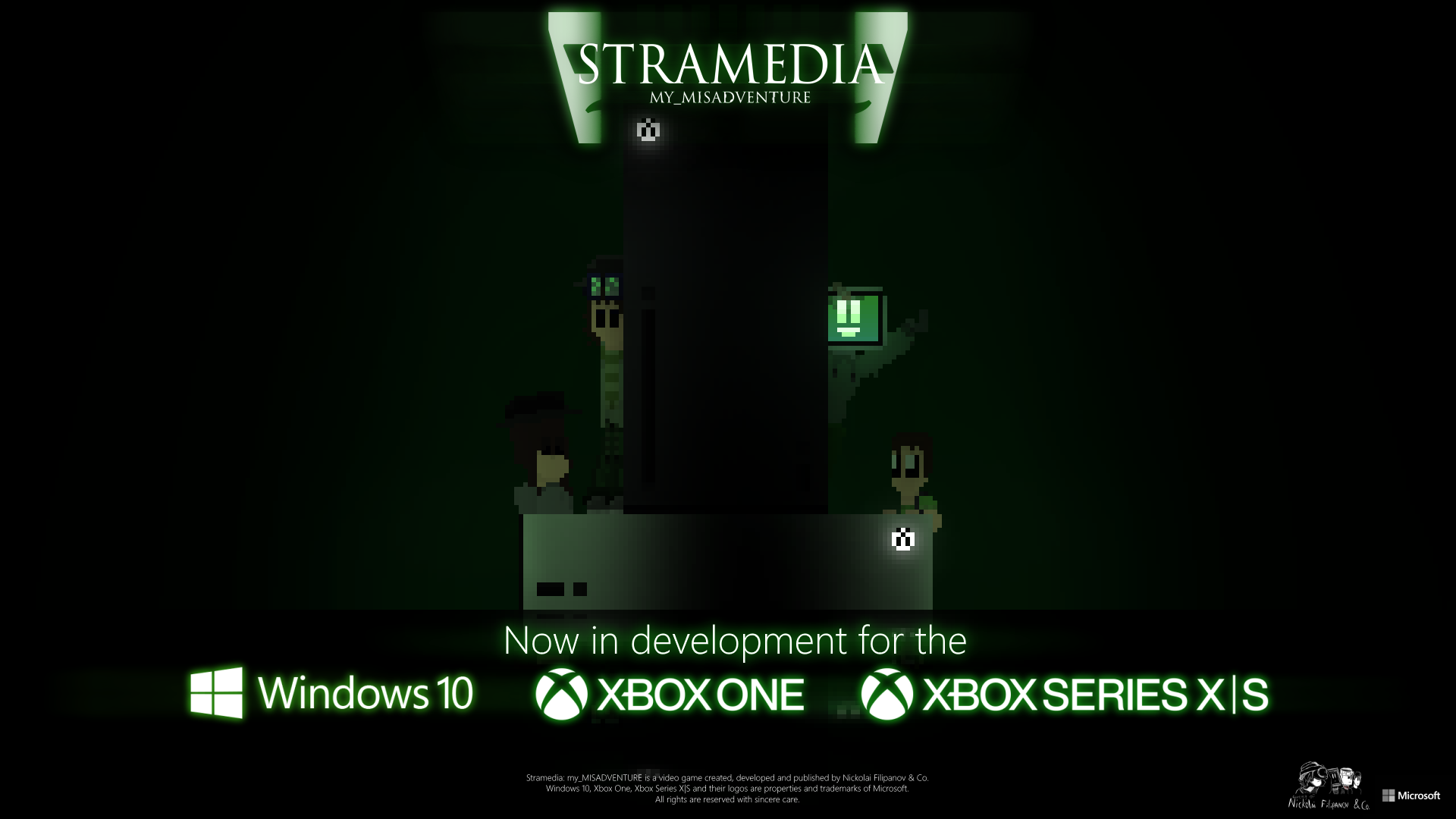 Stramedia: my_MISADVENTURE is now in development for Windows 10 and Xbox Console Family!