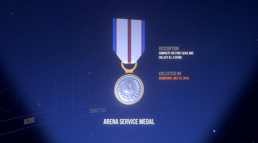 Arena Service Medal