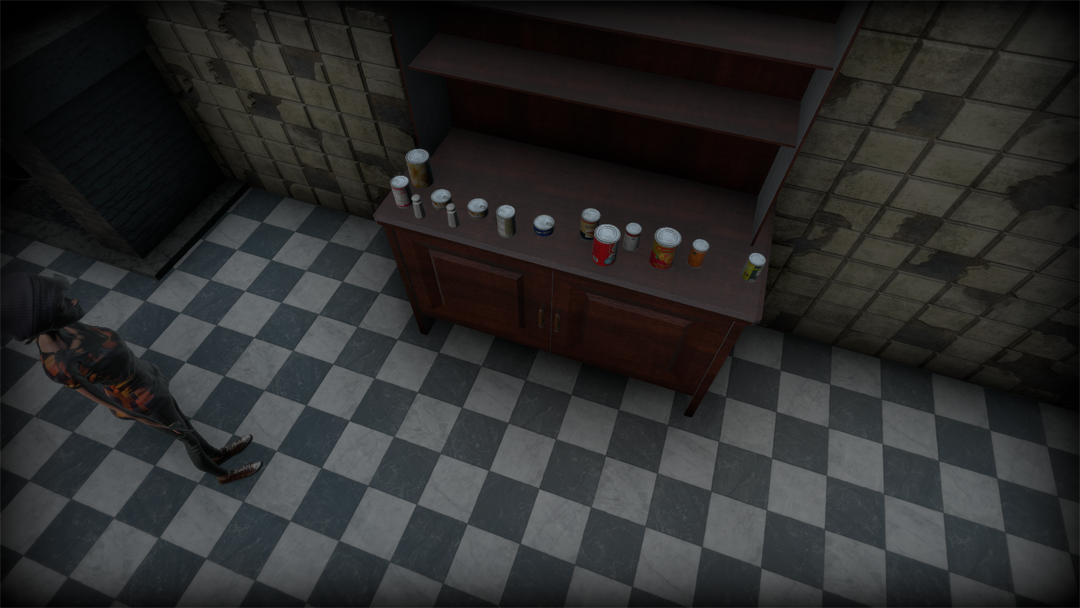 Example of items to be found in the level.