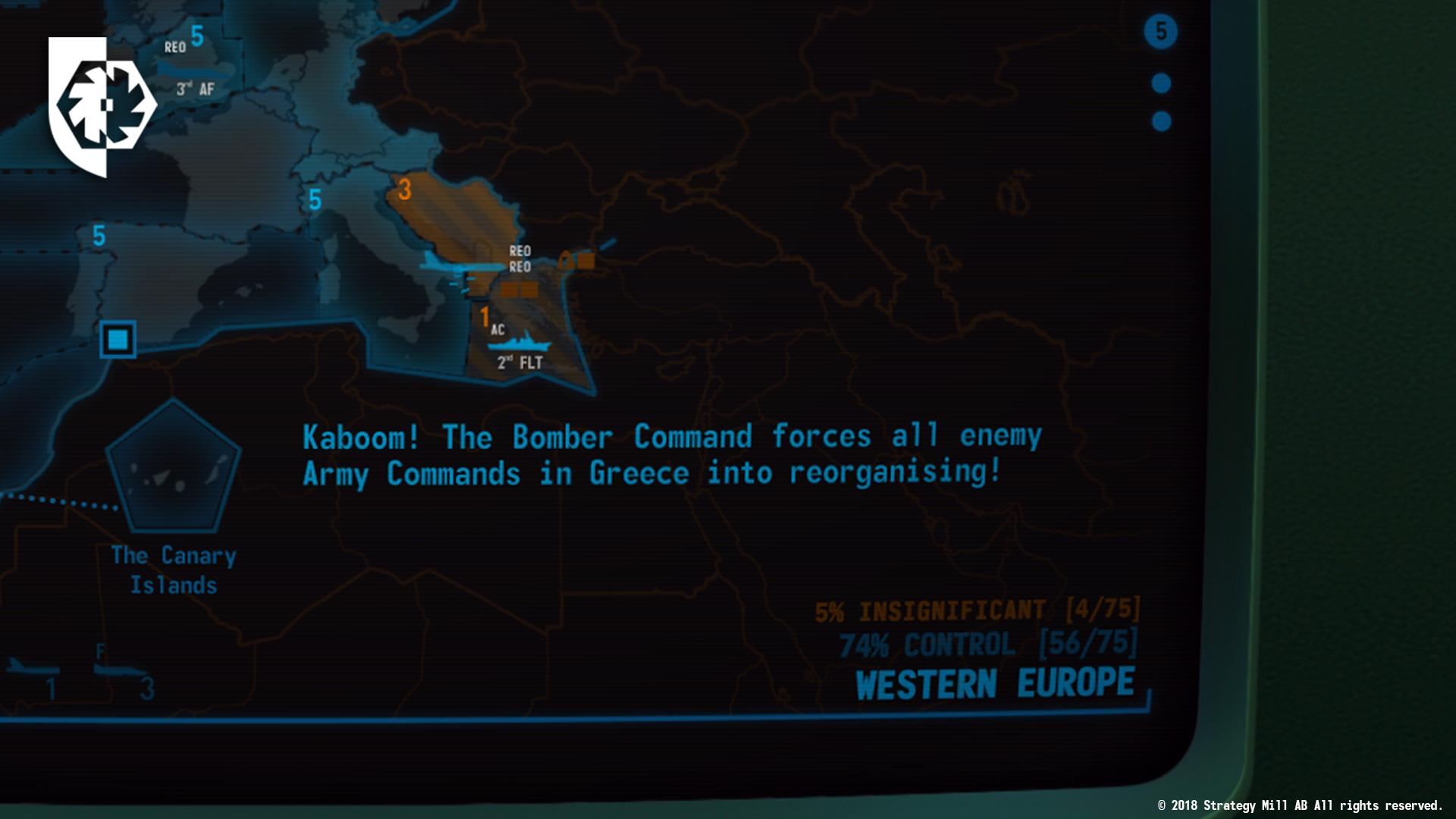 TerminalConflict BomberCommand