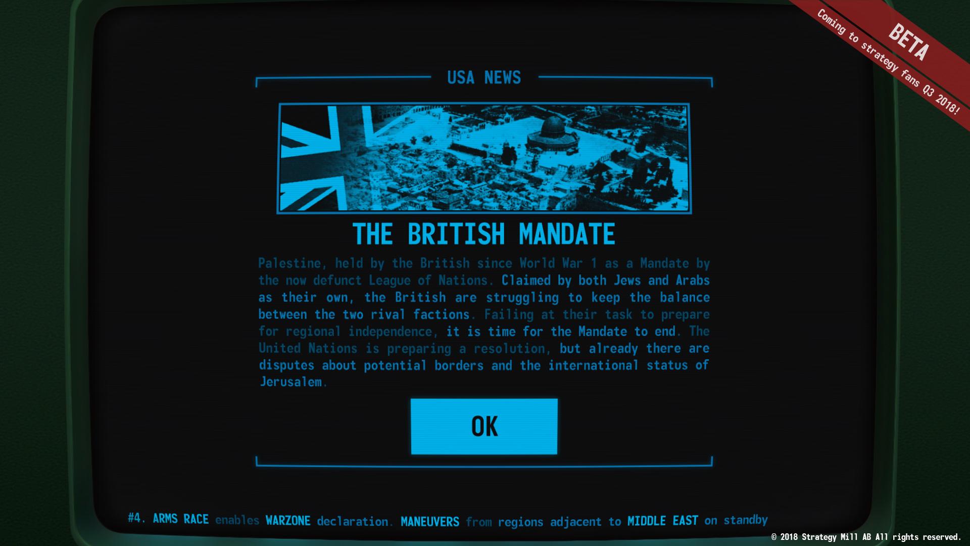 TerminalConflict BritishMandate