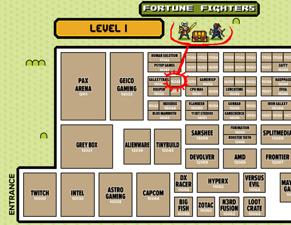 Fortune Fighters PAX