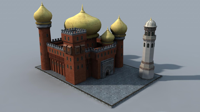 The Inner Sea Caliphate building