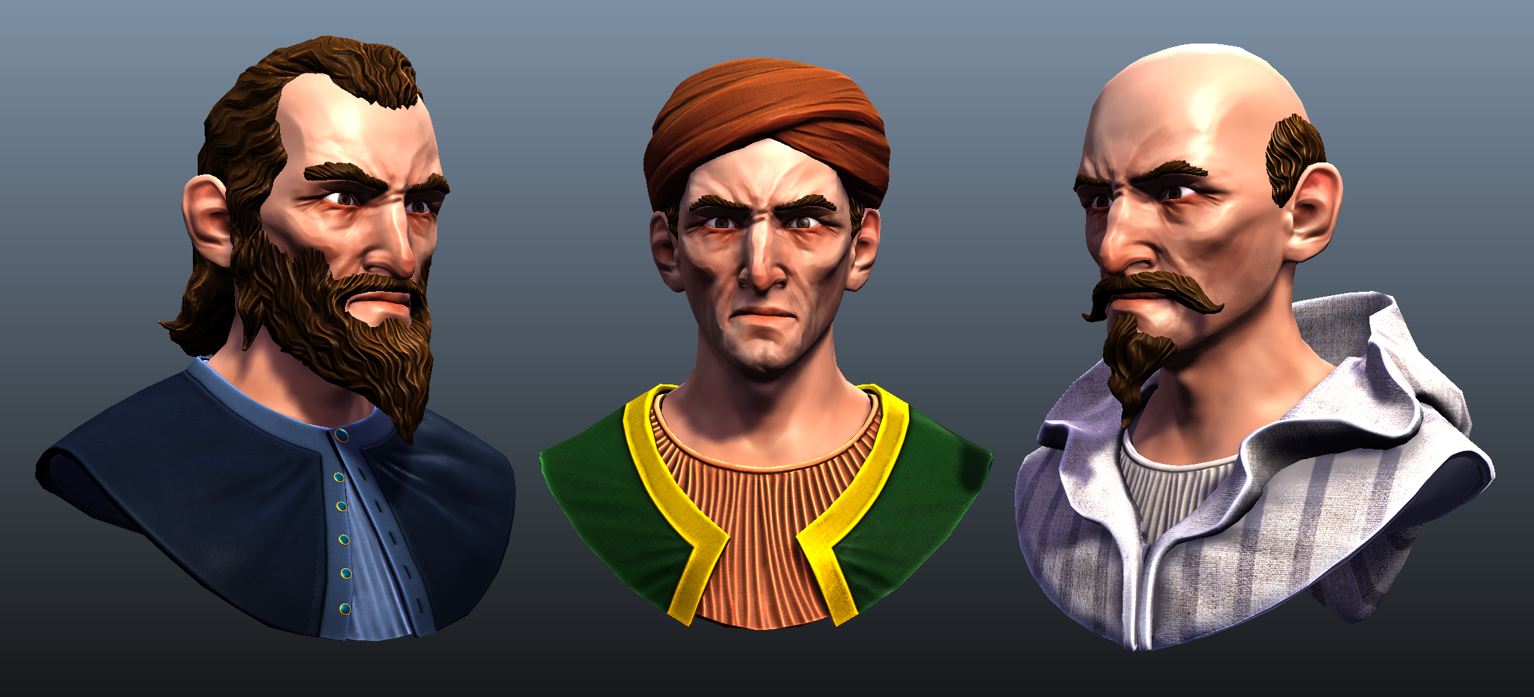 The Inner Sea Caliphate first character