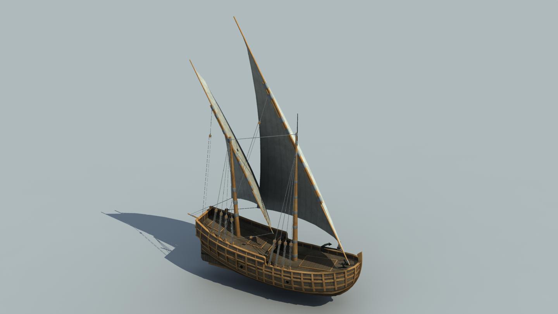 The Inner Sea Caravel Ship