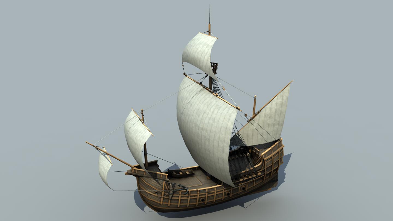 The Inner Sea Carrack Ship