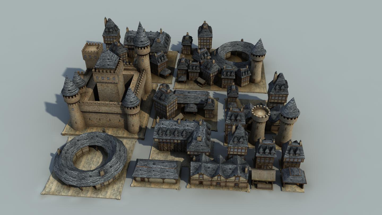 The Inner Sea Norman city kit