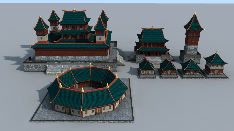 The Inner Sea Qin city