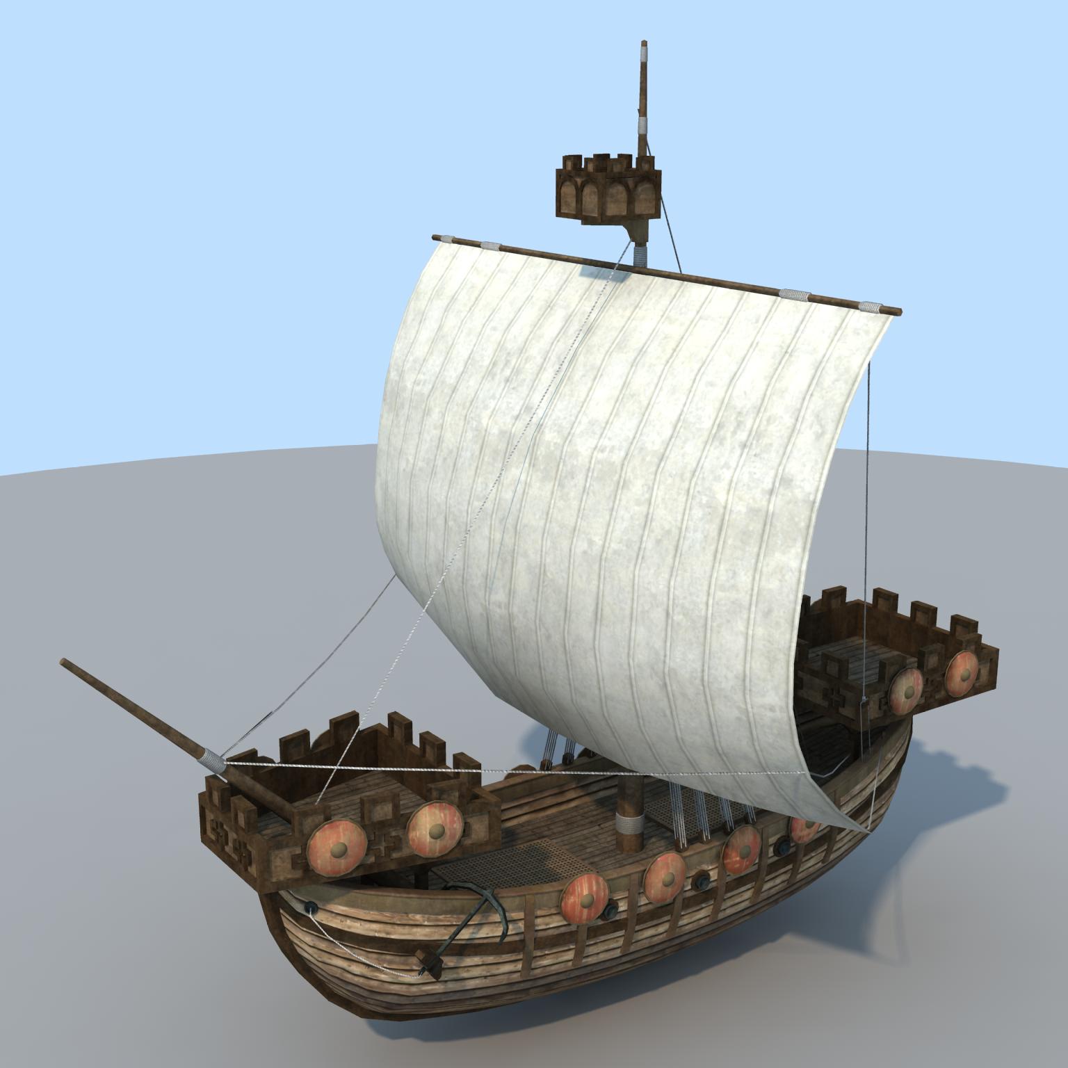 The Inner sea Norman Ship Cog