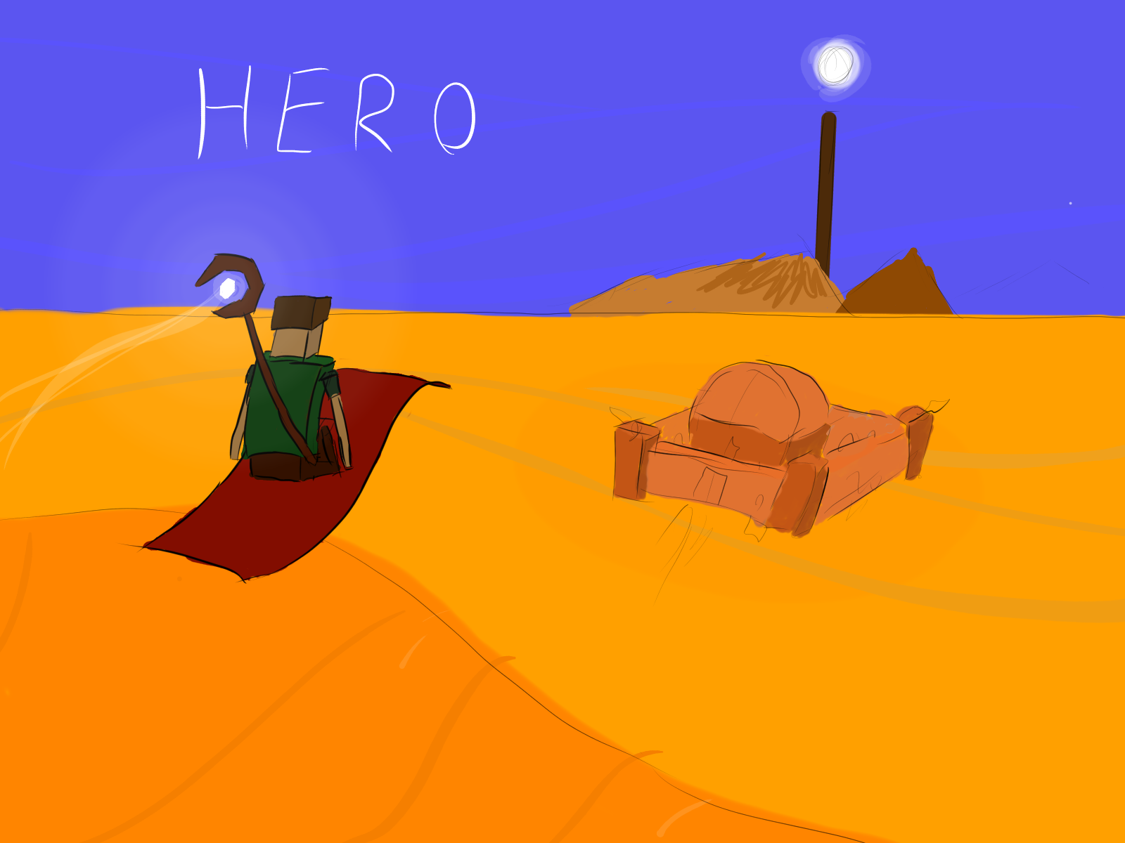 Hero Sketch