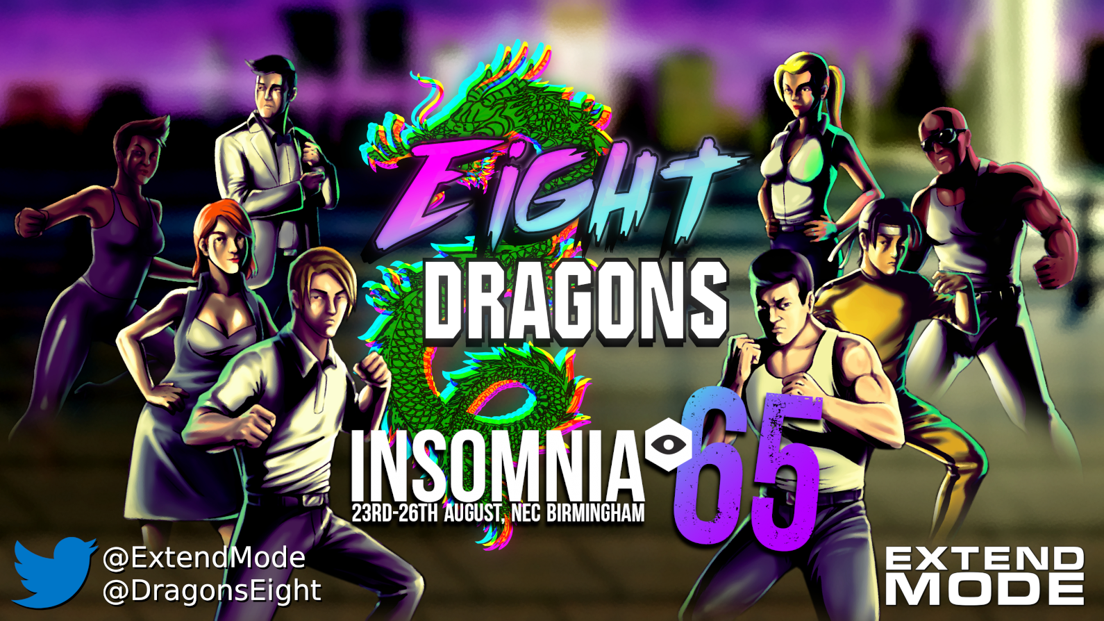 i65   Extend Mode   Eight Dragon
