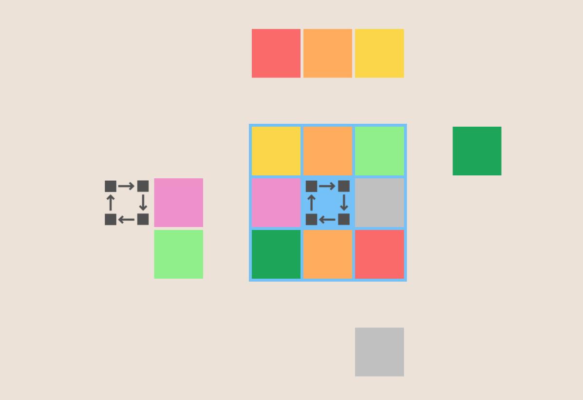 Gliding Square 5