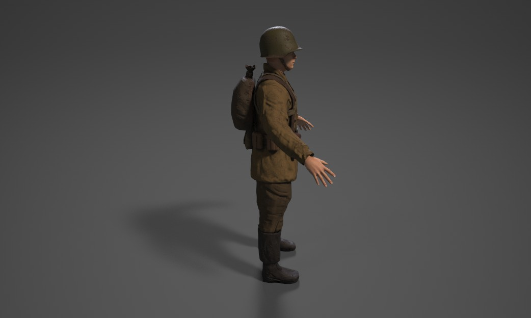 Russian Soldier Left