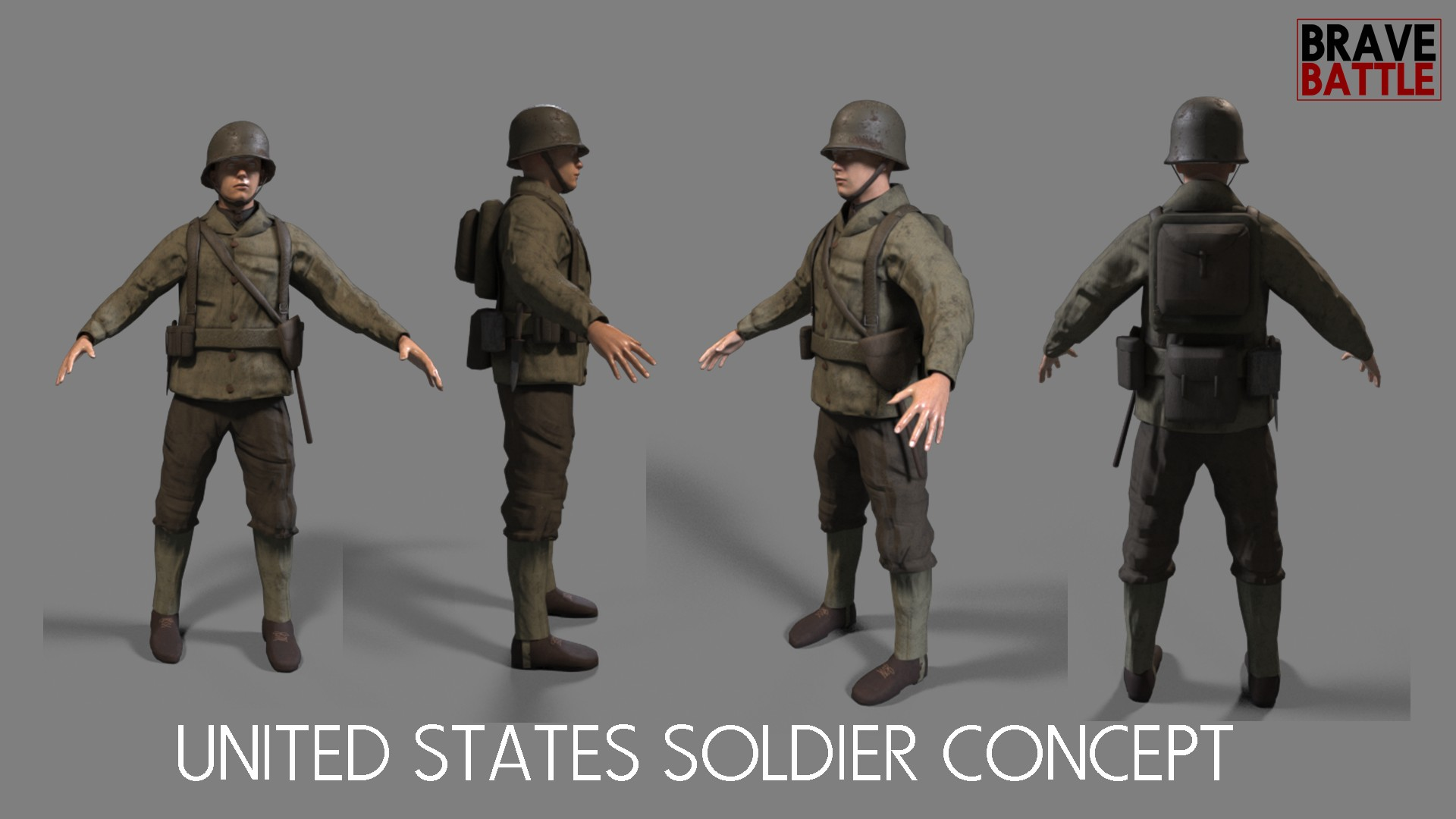 United States Soldier Concept