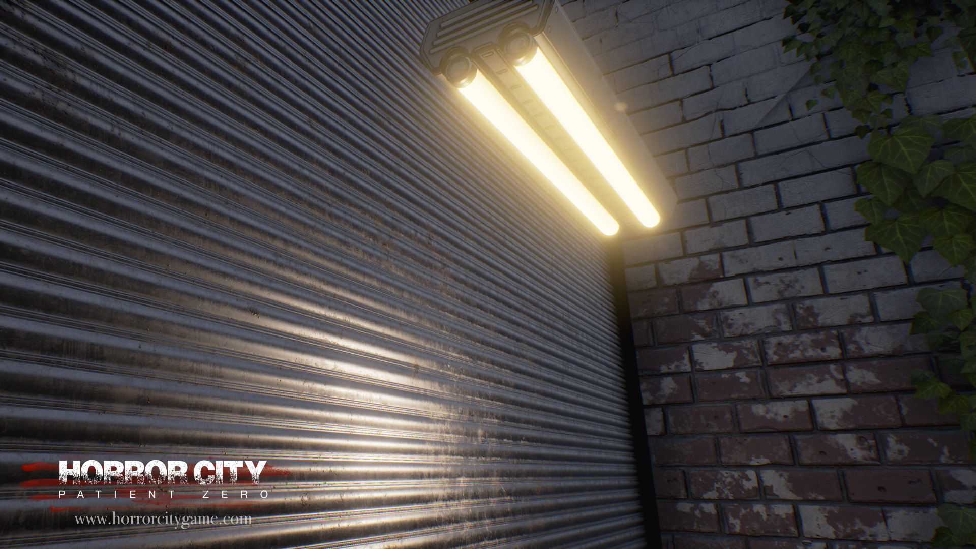 Store shutter textures done with Substance Designer