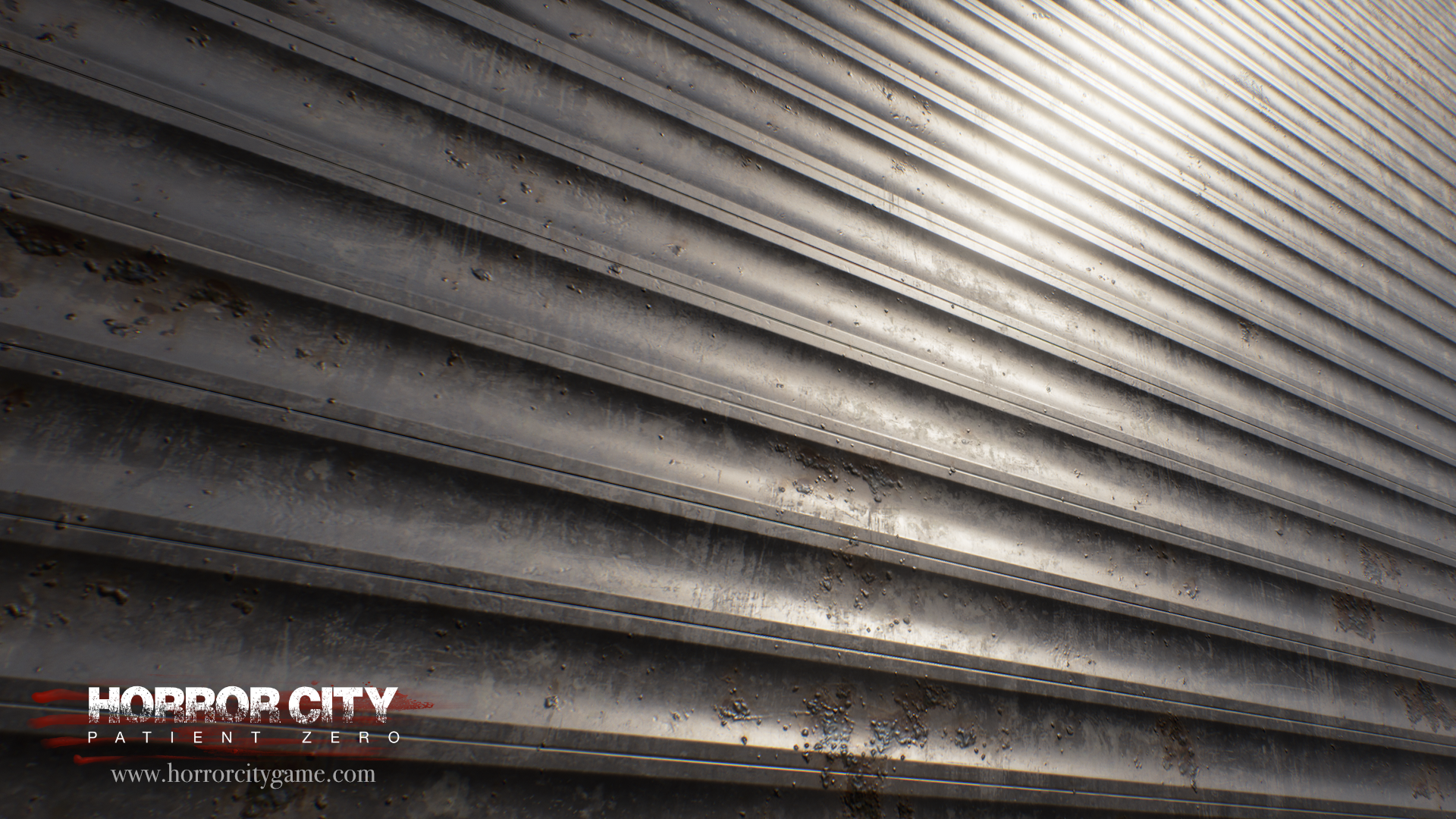 Store shutter textures done with Substance Designer, rendered in UE4