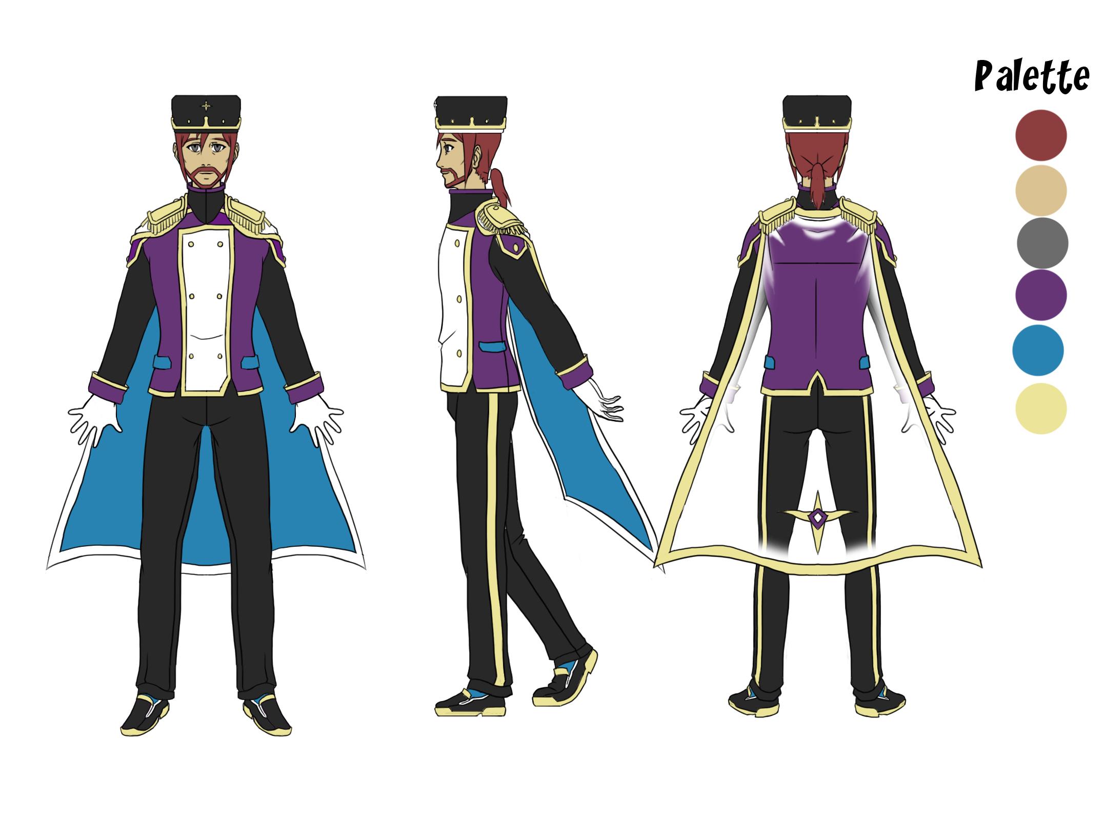 Emilio Character Concept