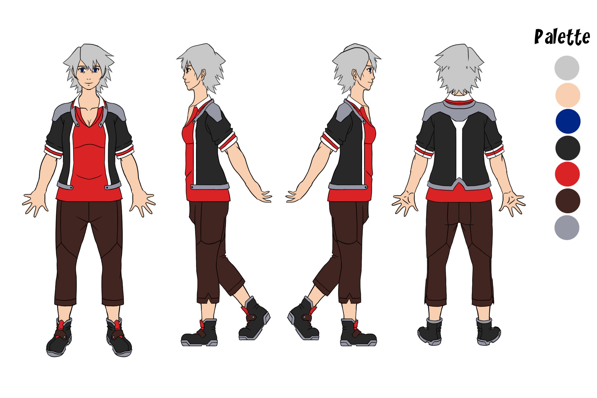 Mirai Character Concept