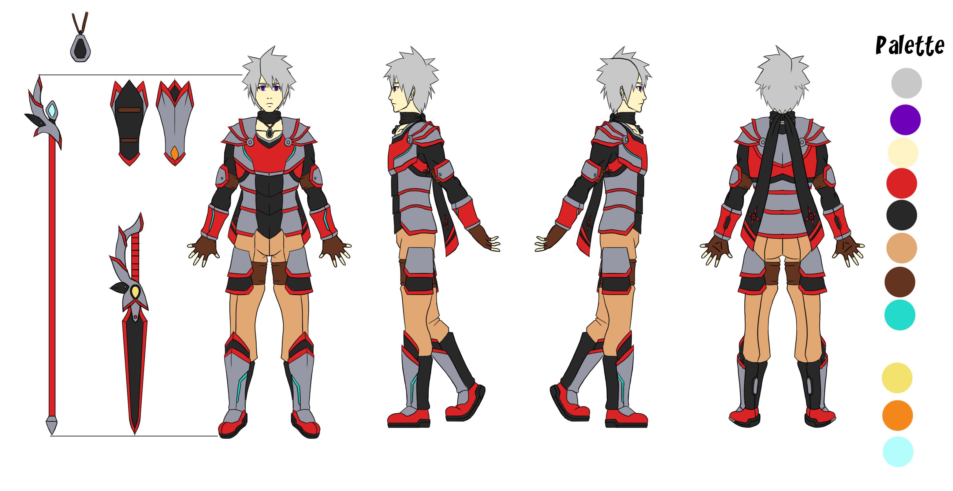 Saiyato Character Concept
