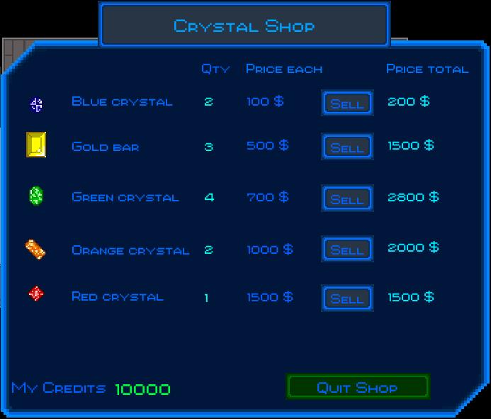 CrystalShopScreenshot