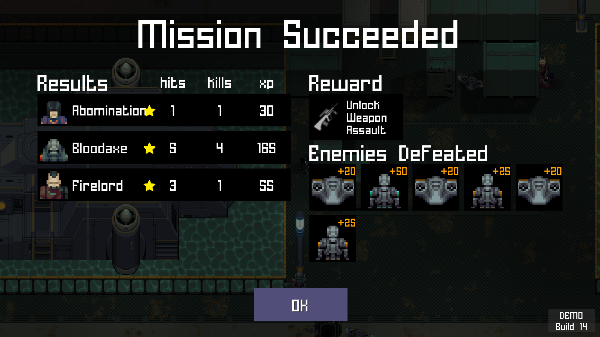 Another successful mission