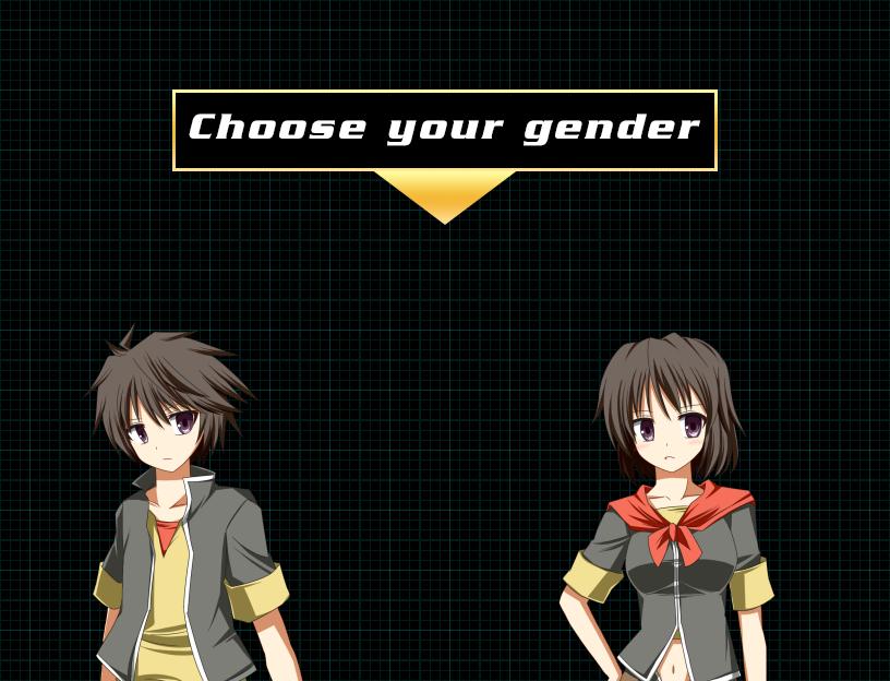 Scene character choice