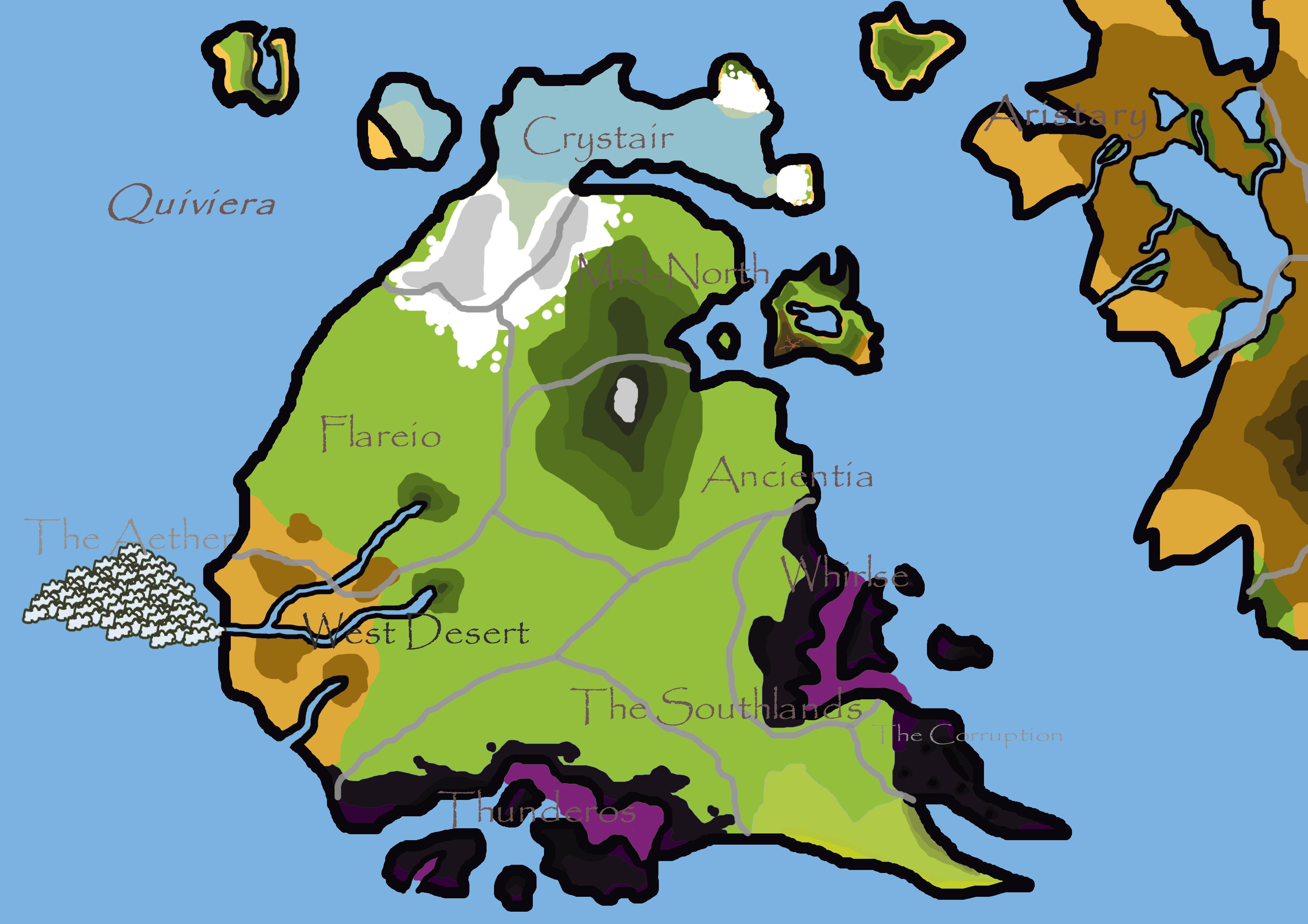 Map of Quiviera