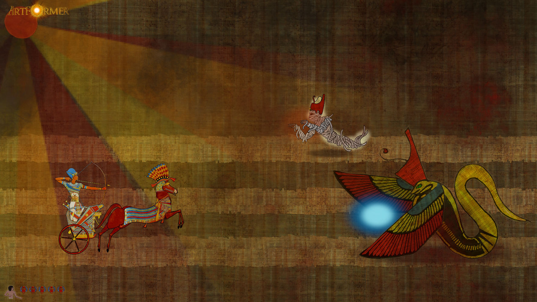 Chariot Egypt