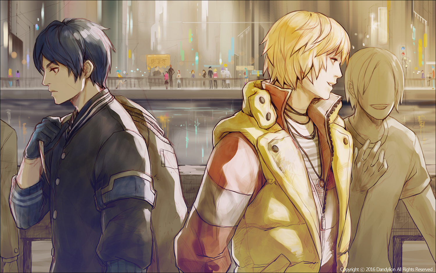Sion and Albus cross