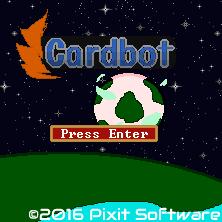 Cardbot Title Screen 2016