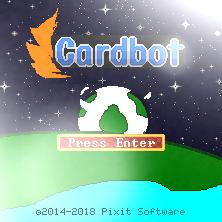 Cardbot Title Screen 2018
