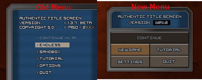title menu comparison
