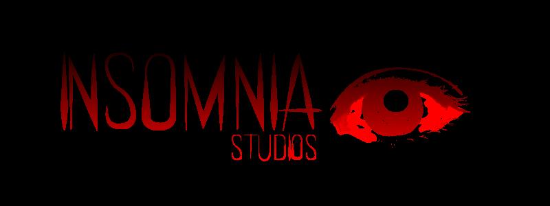 INSOMNIA Logo Over Light
