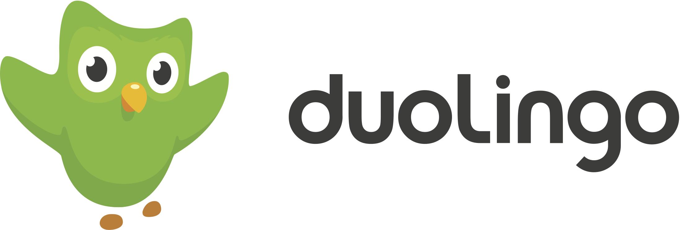 duolingo logo with duo